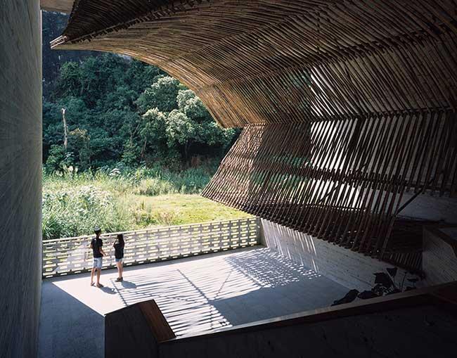vector architects alila yangshuo hotel guangxi chine, Un Moulin à Sucre Transformé en Hotel de Luxe dans le Sud de la Chine