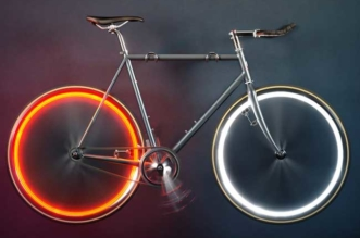 arara bike lights lampe led roue velo neon