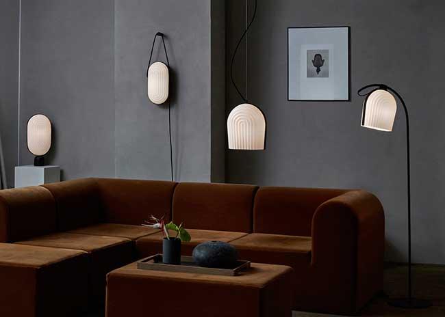 arc-collection luminaires-maner le klint, Quand cette Collection de Luminaires s'Inspire de l'intérieur de l'Eglise Grundtvig à Copenhague