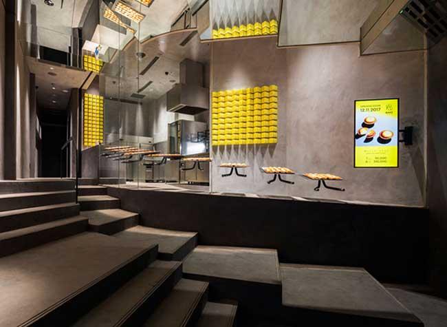 bake cheesetart boutique tartes design vietnam, Cette Boutique de Tartes aux Fromages est une Bijouterie pour Gourmands