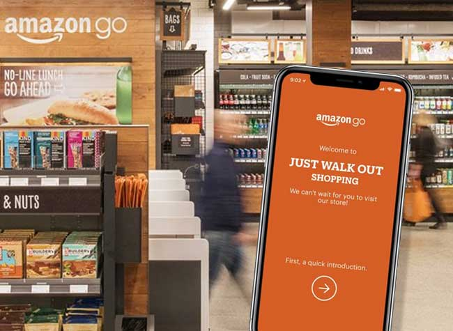 Amazon Go Supermarché sans Caisse