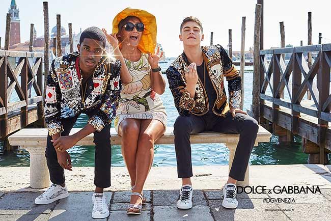 Campagne Dolce Gabbana Homme Ete 2018, Un Ete de Vénitiens pour les Jeunes Millennials Dolce Gabbana