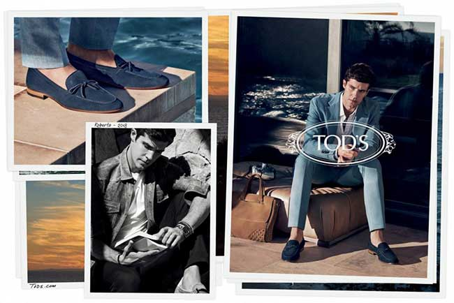campagne tods homme ete 2018