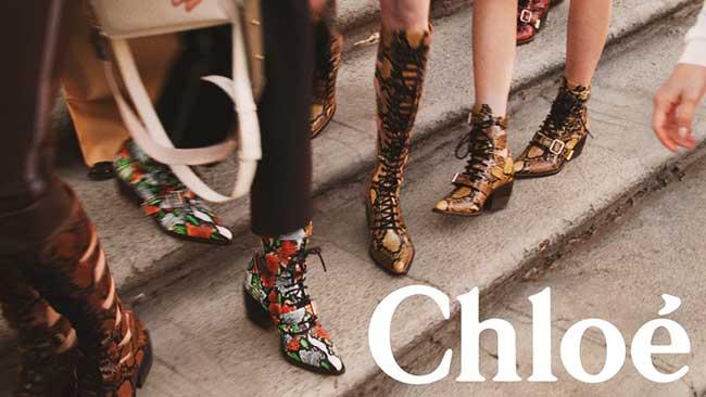 chloe campagne printemps été 2018, Chloe Descend dans la Rue pour le Printemps Eté 2018