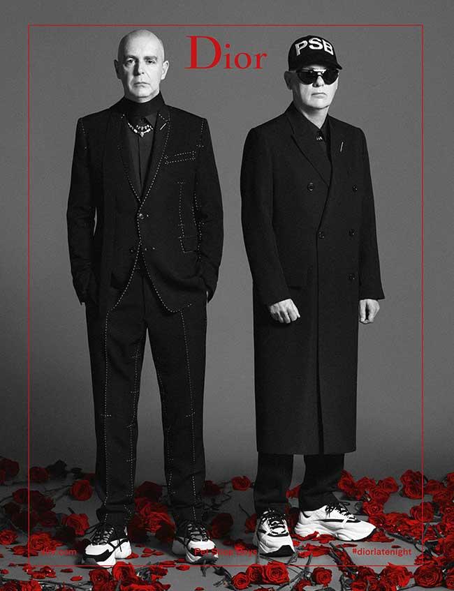 Campagne Dior Homme Ete 2018, Les Pet Shop Boys chez Dior Homme l'Ete Prochain