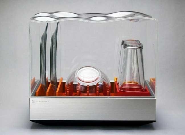 heatworks tetra mini lave vaisselle connecte, Mini Lave Vaisselle Transparent et Connecté dont vous Rêvez (video)