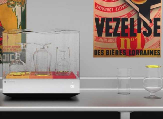 heatworks tetra mini lave vaisselle connecte 3 - Mini Lave Vaisselle Transparent et Connecté dont vous Rêvez (video)