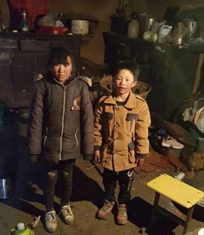 ice boy garcon gele ecole wang fuman chine 7 - A 8 ans il Marche 4,8 Km dans un Froid Glacial pour Arriver Gelé à l'Ecole (video)
