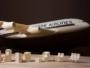 Luca Iaconi-Stewart Sculpture Carton Airbus A320