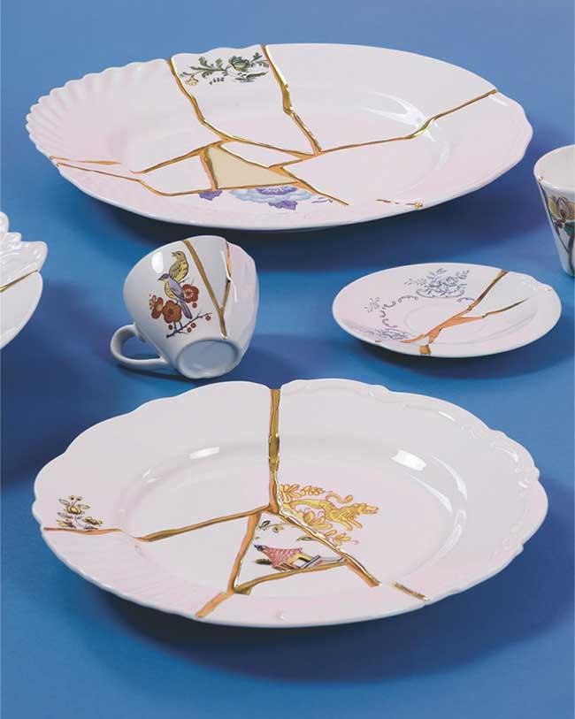 marcantonio kintsugi seletti vaisselle cassee luxe 3 - Insolite, la Vaisselle en Porcelaine Cassée puis Recollée avec de l'Or