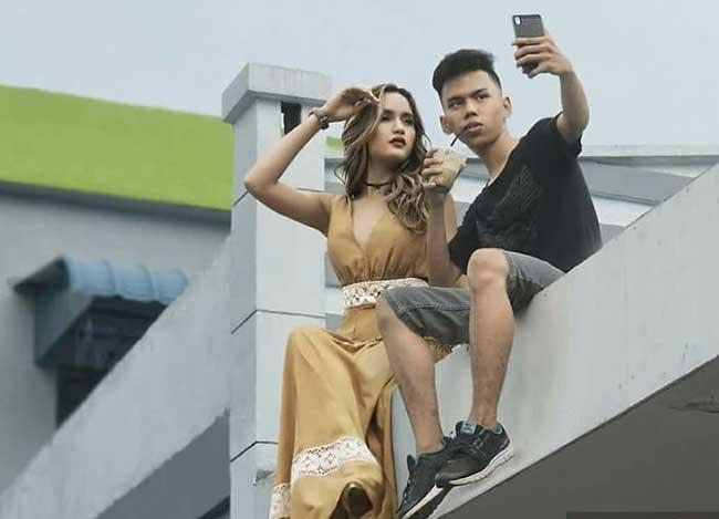 montage photo celebrite syahril ramadhan photoshop