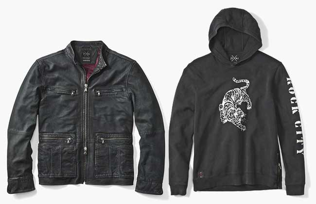 Nick Jonas John Varvatos Collection Capsule, Nick Jonas Signe une Collection Capsule pour John Varvatos
