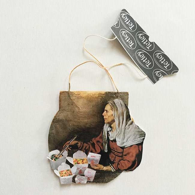 peinture miniature sachet the ruby silvious