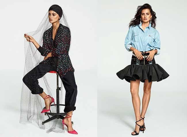 penelope cruz magazine mode elle espagne, Penelope Cruz Plus Jeune Que Jamais pour Elle Espagne