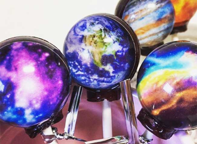 sucettes planetes cosmos vintage confections