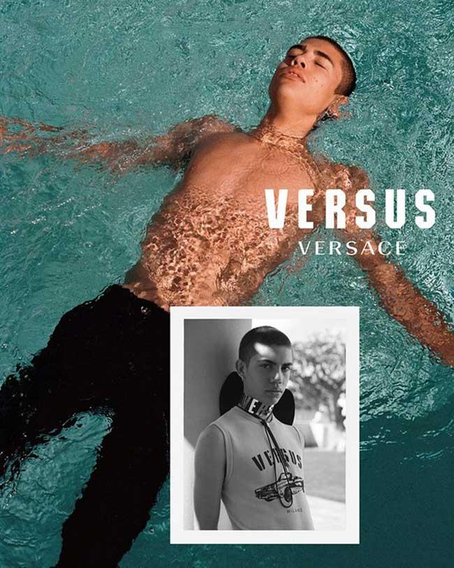 campagne versus versace ete 2018 femme homme, Des Millennials à San Francisco pour Versus Versace (video)
