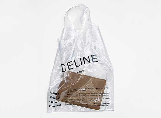 celine sac plastique transparent luxe 3 - Celine Paris Revisite en Version Chic le Sac en Plastique