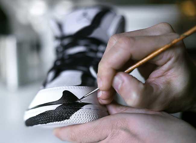 dft anamorphique baskets nike air jordan, Ces Artistes Transforment en 2D des Baskets Nike Air Jordan