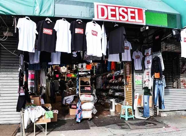 diesel deisel contrefacon originale authentique, Diesel ouvre sa Boutique de Contrefaçons à Petit Prix (video)