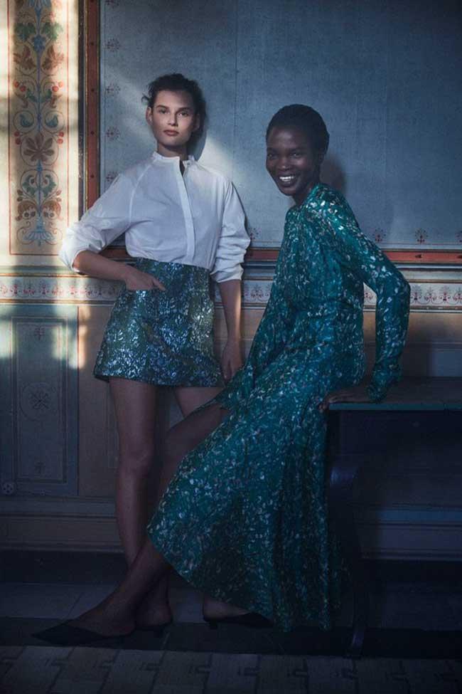 christy-turlington-hm-conscious-exclusive-2018, Pour H&M Conscious Exclusive 2018 Christy Turlington Plus Mystérieuse Que Jamais