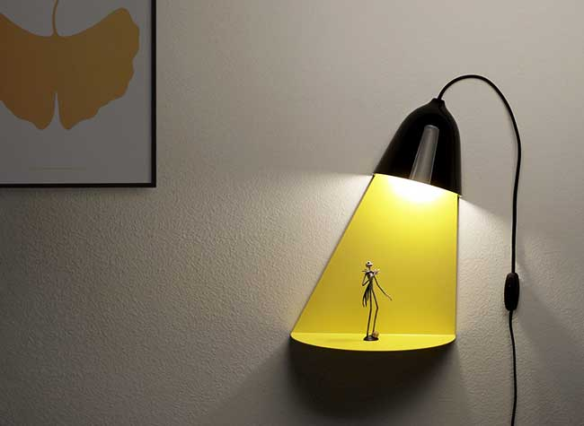 ilsangisang light shelf lampe bd illusion optique
