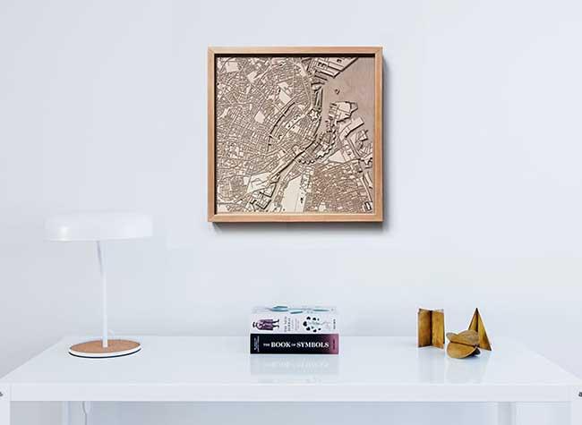 indiedesigners citywood cartes 3d bois villes