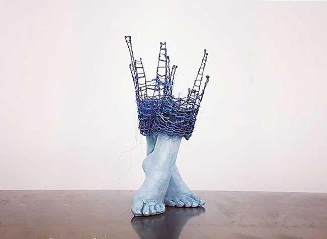 lene kilde sculptures figurative inacheve art, Ces Sculptures Inachevées d'Enfants sont à Compléter du Regard