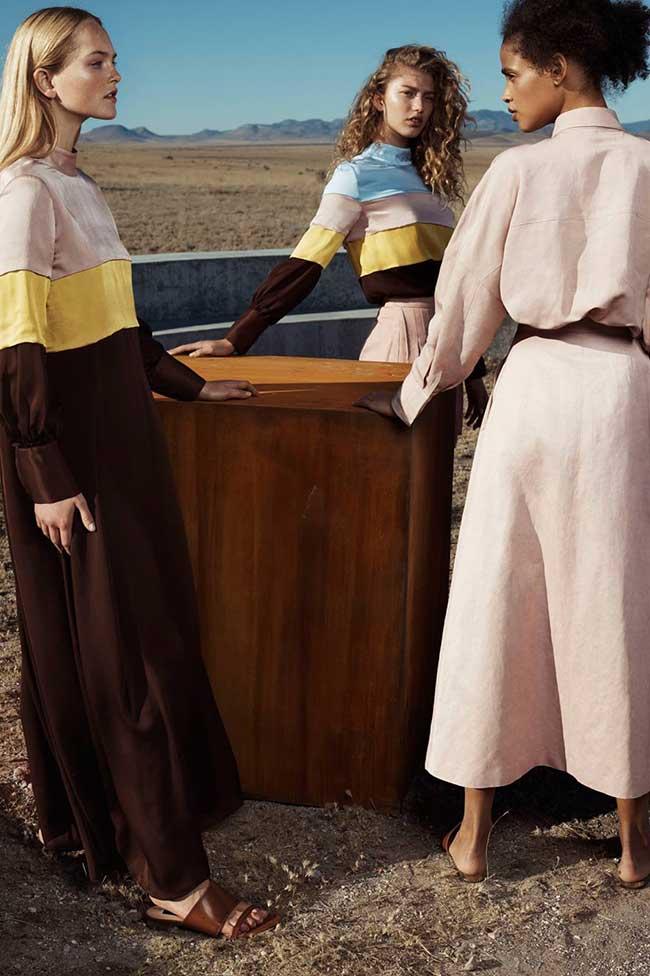 massimo dutti printemps ete 2018 campagne, Escapade dans le Désert pour la Femme Massimo Dutti Ete 2018