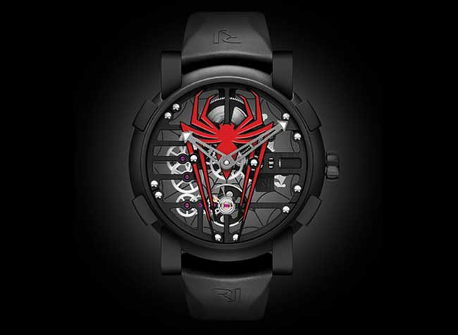 montre romain jerome rj spiderman sihh luxe