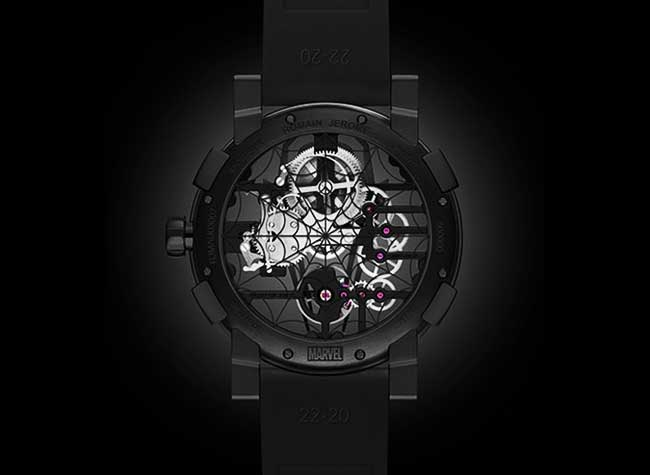 montre romain jerome rj spiderman sihh luxe, Luxueuse Montre Spiderman Signée Romain Jerome (video)