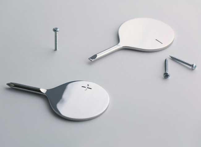 plusminus tournevis minimaliste selek design, Avec ce Tournevis vous ne vous Tromperez plus de Sens