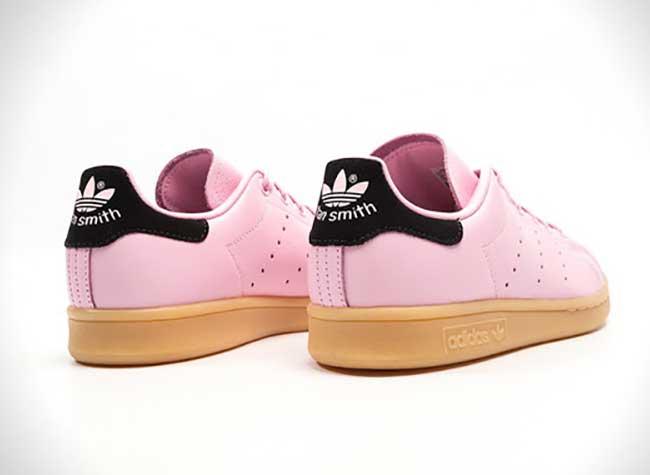 adidas stan smith wonder pink black rose, Les Baskets Stan Smith en Rose se Font plus Girly