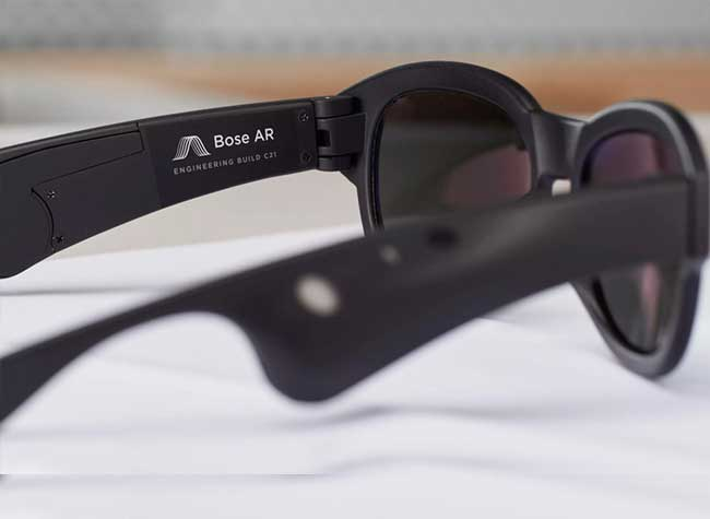 bose ar lunettes soleil audio realite augmentee, Bose AR, Lunettes de Soleil Audio en Réalité Augmentée (video)
