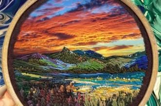 broderie art paysage vera shimunia
