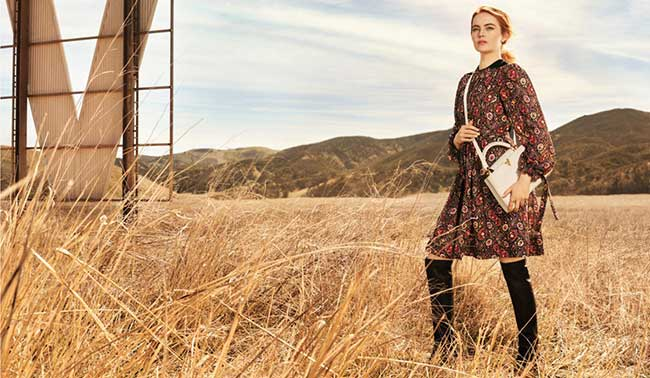 emma-stone-louis-vuitton-2018-spirit-travel, Emma Stone Egérie Louis Vuitton pour sa Campagne Spirit of Travel
