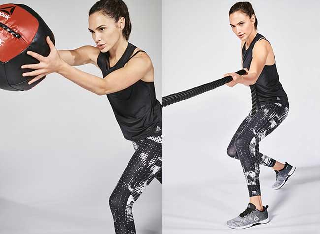 Campagne Reebok Wonder Women Gal Gadot, Pour Reebok la Wonder Women Gal Gadot se Met au Fitness