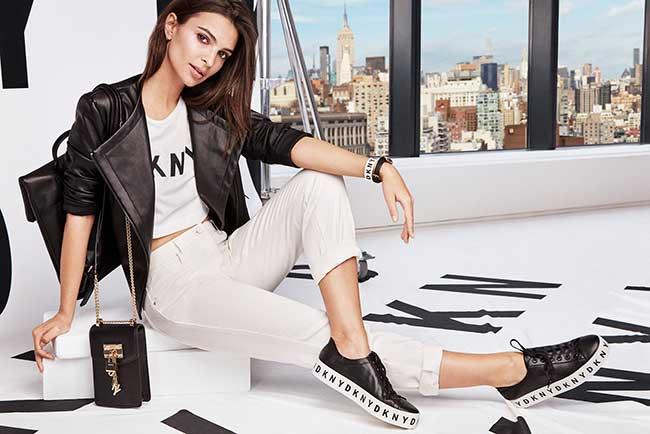 dkny campagne printemps ete 2018, Pour DKNY Emily Ratajkowski s'Offre un Eté New Yorkais