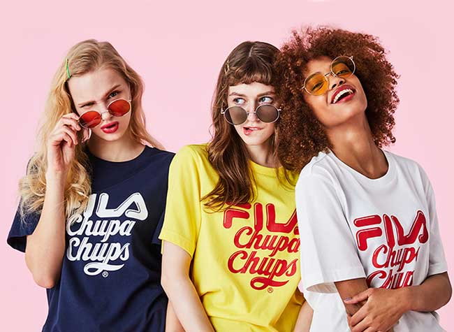 fila chupa chups collection capsule ete