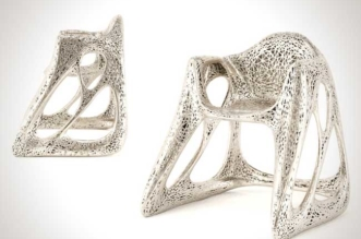 john briscella chaise metal imprimees 3d eames