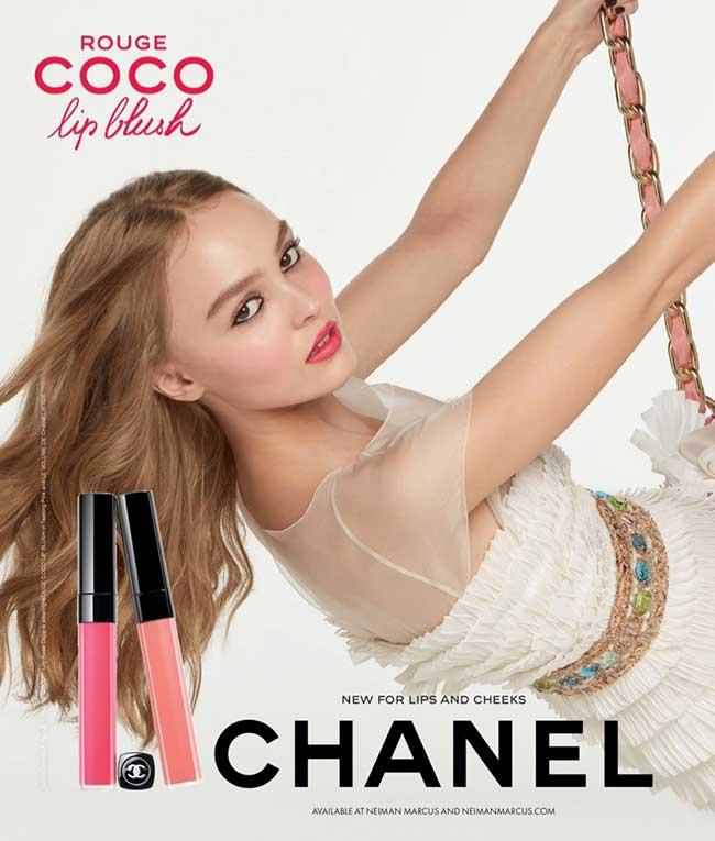 lily rose depp chanel campagne, Lily-Rose Depp Joue l'Oiseau de Paradis pour Chanel Maquillage