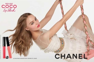lily rose depp chanel campagne