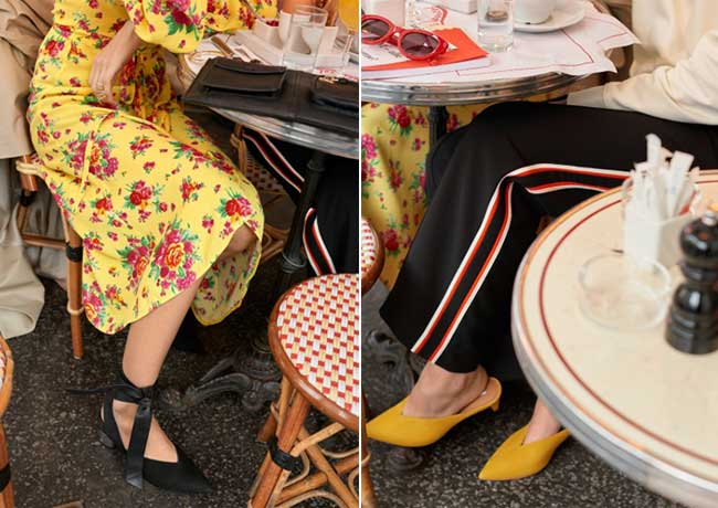 lookbook other stories cafe society, Au Café, un Style Chic et Frenchy pour '& Other Stories'