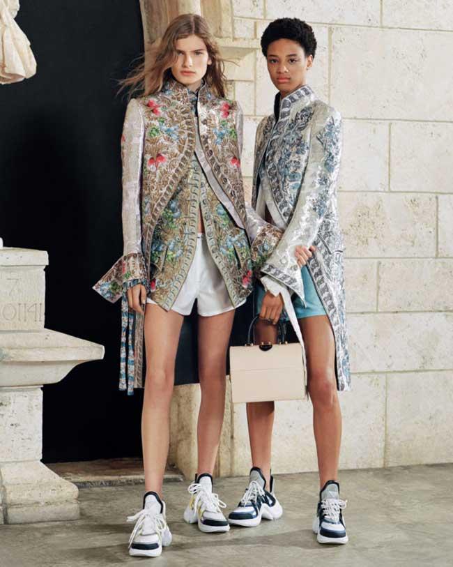 louis vuitton series 8 campagne printemps ete 2018, Louis Vuitton Offre une Virée à Miami à ses Actrices et Tops