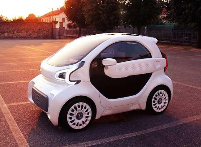 lsev xev voiture electrique imprimee 3d, Pour 7500 € cette Voiture Imprimée en 3D est à vous (video)