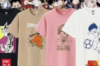 uniqlo weekly shonen jump t-shirts manga