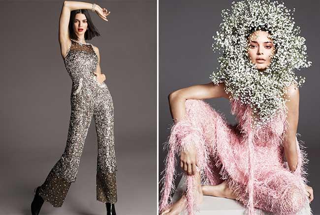kendall jenner mode printemps vogue, Kendall Jenner, Fille en Fleur pour Fêter le Printemps