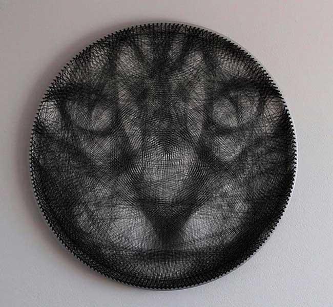 art saso krajnc cvern portraits tissage