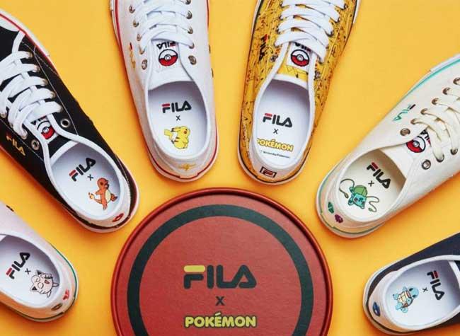 Baskets Pokemon Fila, Baskets Fila Pokemon pour les Geeks qui ont du Style