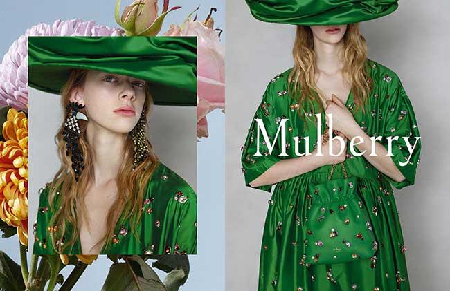 campagne mulberry ete 2018 02 - Un Ete en Fleurs et en Rayures pour Mulberry