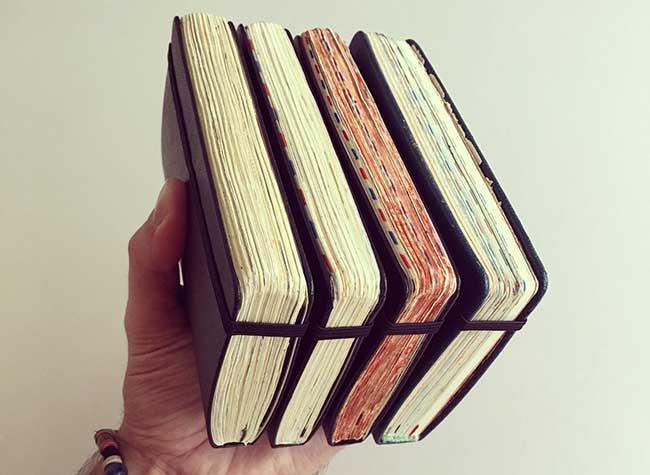 illustrations carnets croquis jose naranja 2 - Les Carnets de Croquis de cet Artiste sont des Oeuvres d'Art